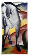 Marc: Grey Horse, 1911 Bath Towel