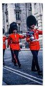 Marching Grenadier Guards Bath Towel