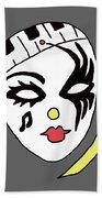 Mardi Gras Mask Bath Towel