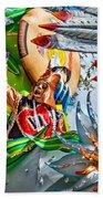Mardi Gras - New Orleans 3 Bath Towel