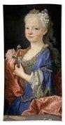 Maria Anna Victoria Of Bourbon. The Future Queen Of Portugal Bath Towel