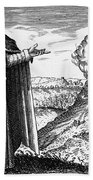 Maria The Jewess, First True Alchemist Bath Towel