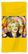 Marilyn Superstar Pop Bath Towel