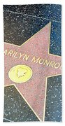 Marilyn's Star Hand Towel