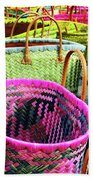 Market Baskets - Libourne Bath Towel