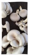 Market Mushrooms Bath Towel