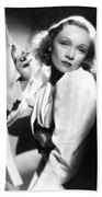 Marlene Dietrich Bath Towel