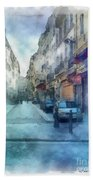 Marseille Back Street Bath Towel