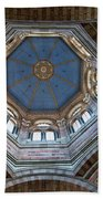 Marseille Cathedral St Mary Major Dome And Cupola Bath Towel