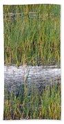 Marsh Grasses Bath Towel
