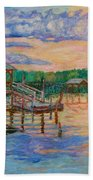 Marsh View At Pawleys Island Bath Towel by Kendall Kessler