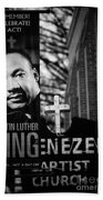 Martin Luther King Day Bath Towel