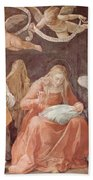 Mary And Angels 1611 Bath Towel