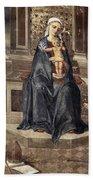 Mary And Baby Jesus Bath Towel