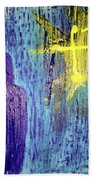 Mary And The Crosses Bath Towel