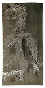 Mary Through The Looking Glass Bath Towel