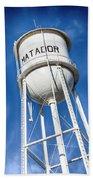 Matador Water Tower Bath Towel