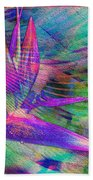 Maui Bird Of Paradise Bath Towel