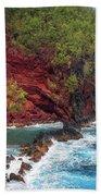Maui Red Sand Beach Bath Towel