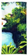 Maui Seven Sacred Falls #184 Hand Towel