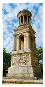 Mausoleum Of The Julii - Glanum Roman Ruins Bath Towel
