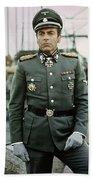 Maximilian Schell As Capt. Stransky Cross Of Iron Publicity Photo 1977 Bath Towel