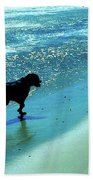Maxwell On The Beach Bath Towel