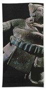Mayan Athlete, 700-900 A.d Hand Towel