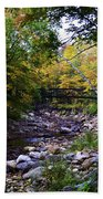 Mcarthur Bridge Over The Roaring Branch Bath Towel