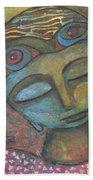 Meditative Awareness Bath Towel by Prerna Poojara