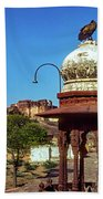 Mehrangarh Fort - Approach With Caution Bath Towel