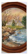 Melody Of Autumn. Bath Towel