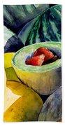 #18 Melons Plus Bath Towel