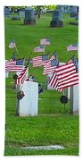 Memorial Day Salute Bath Towel