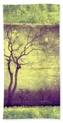 Memories Like Trees Bath Towel