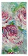 Memories Of Roses Bath Towel