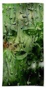 Memory In The Rain Bath Towel by Darren Cannell