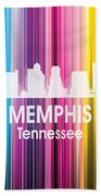 Memphis Tn 2 Squared Hand Towel