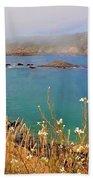 Mendocino Headlands Bath Towel