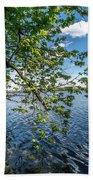Mendota Lake Bath Towel