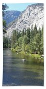 Merced River In Yosemite Bath Towel