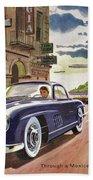 Mercedes 300 Sl Bath Towel
