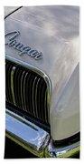 Mercury Cougar Xr7 Emblem Bath Towel