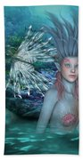 Mermaid Of The Deep Sea 2 Bath Towel
