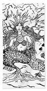 Mermaid Queen Bath Towel