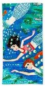Mermaid Race Bath Towel