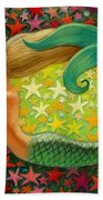 Mermaid's Circle Bath Towel