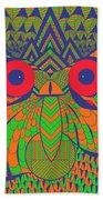 Mesmerizing Owl Bath Towel