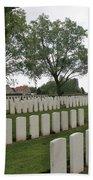 Messines Ridge British Cemetery Bath Towel