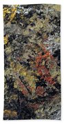 Metallic Abstraction Bath Towel